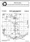 Map Image 058, Crow Wing County 2001 Published by Farm and Home Publishers, LTD